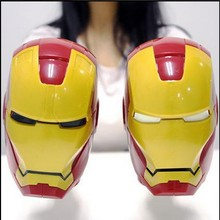 Paquete de regalo De Plástico 380 ml Taza de The Avengers Ironman 3D Leche Té de la Taza de Café Regalo De Navidad RY1508