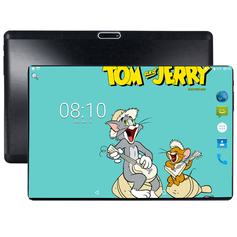 2019 Newest 10 Inch Tablet PC 3G 4G LTE Octa Core 4GB RAM 64GB ROM Dual SIM 5.0MP Android Oreo GPS Bluetooth WiFi Tablet PC 10.1