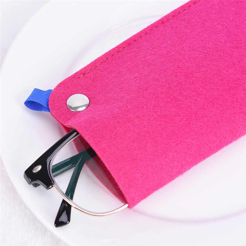 ウールフェルト布ケースポータブルソフト男性眼鏡女性サングラス複数の用途軽量 app.18 * 9 センチメートル/7.1 * 3.54in