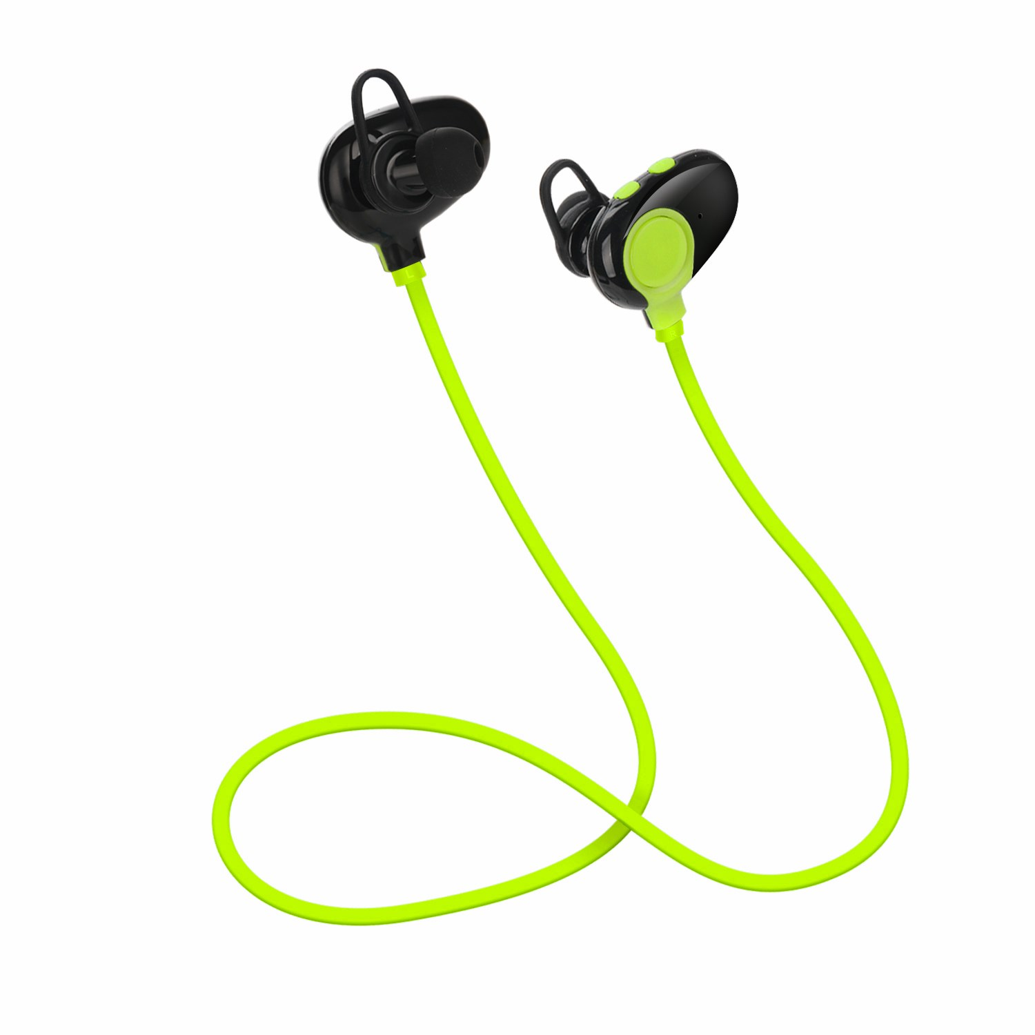 New Stylish Wireless Earphone Sport Headset Blueooth Earphones With Mic Phones Sweatproof Earbuds For Samsung For LG 4 Colors new dacom carkit mini bluetooth headset wireless earphone mic with usb car charger for iphone airpods android huawei smartphone