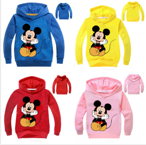 Hoodies Clothing Girls Kids Children New Cartoon for Infant Sweatshirts Outfit