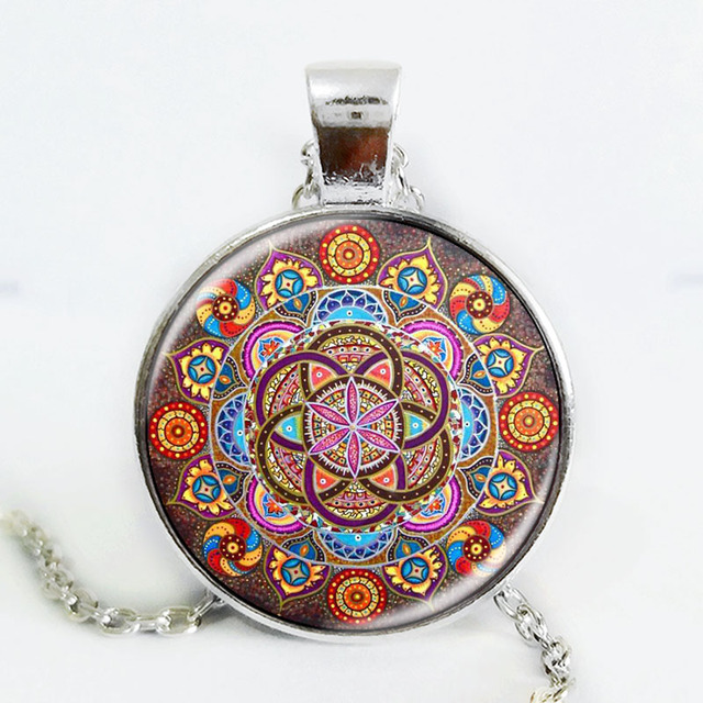 Mandala Chakra Necklaces For Women