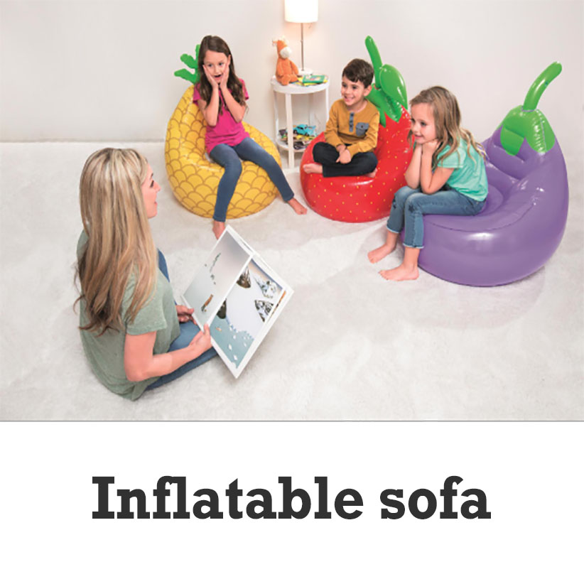 Fruit vegetables creative kids sofa Inflatable baby chair children 1-10Y seats high quality Send repair Paper baby sofas newestFruit vegetables creative kids sofa Inflatable baby chair children 1-10Y seats high quality Send repair Paper baby sofas newest
