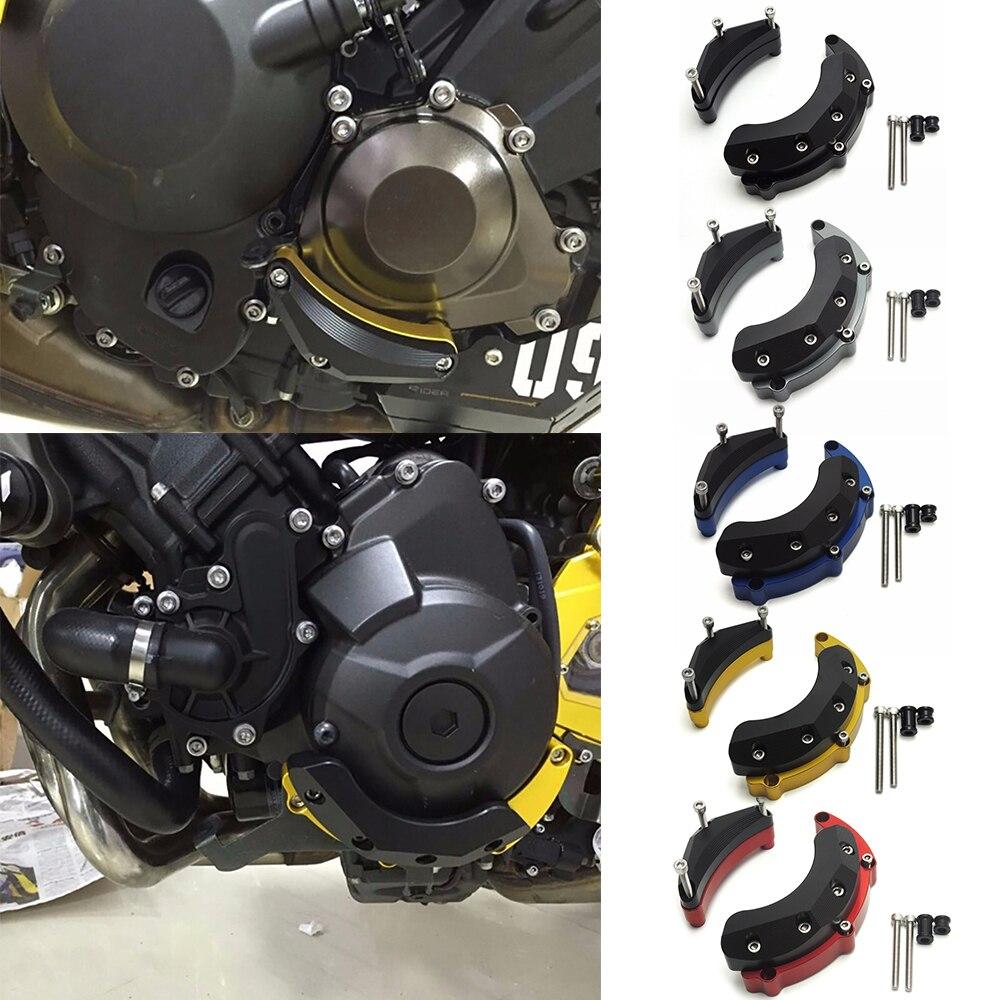 KEMiMOTO For YAMAHA MT09 FZ09 Engine Guard Case Slider Cover Protector MT-09 Tracer FJ09 XSR 900 2014 2015 2016 2017 2018 2019 crash bar mt 09