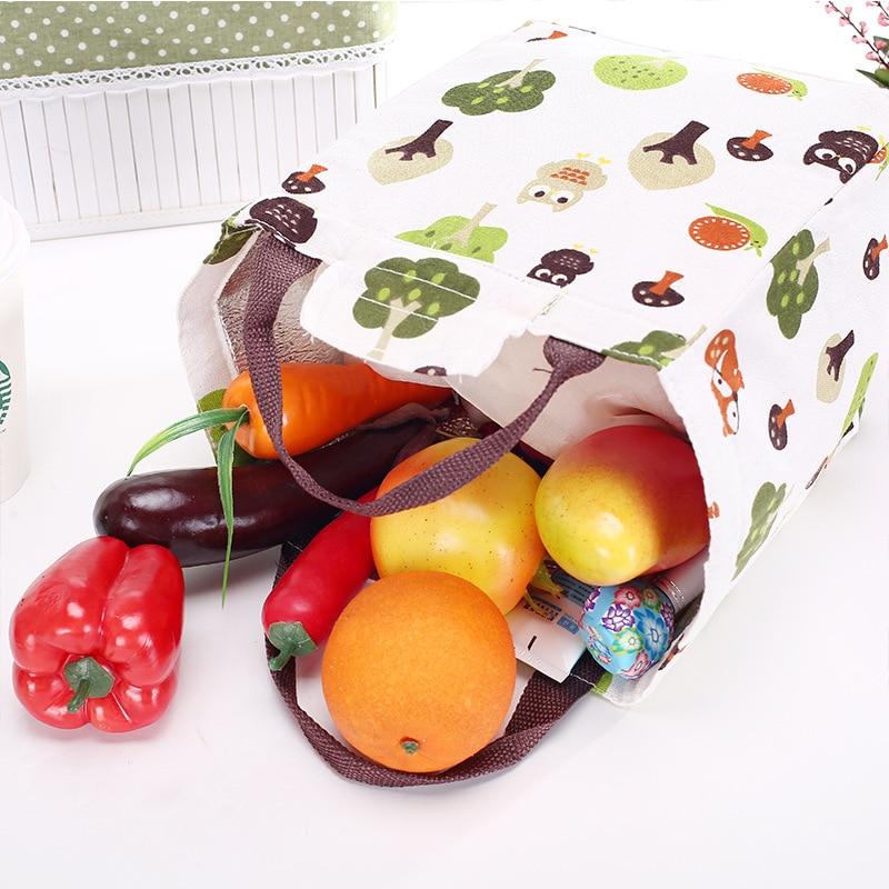 isolado lunch bolsa bolsa mulheres Size : 20*24cm