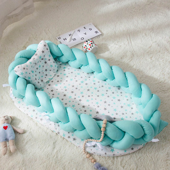 Kinderbett Stoßstangen   Multi Funktionale Tragbare Bionic Bett Kleinkind Baumwolle Wiege Baby Stubenwagen Stoßstange Faltbare Sleeper Babynest Matratze 0-2Y
