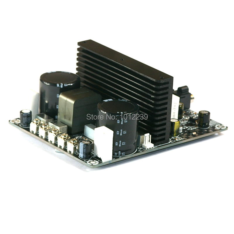 375 Watt Class D Audio Amplifier Board - 375W IRS2092 Mono Power Amp Subwoofer hifi irs2092 irfb4227 mono amplifier board class d power amp board 1000w
