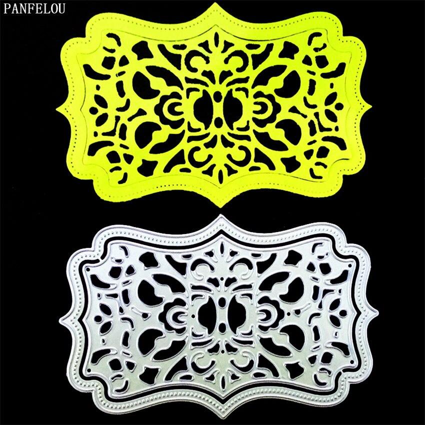 PANFELOU Dreamland maze paper die cutting dies metal craft Scrapbooking/DIY Christmas wedding Embossing mould cards