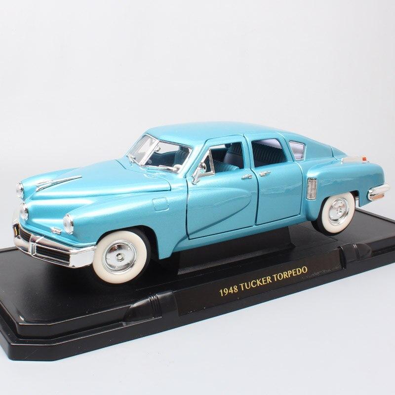 كيد الطريق توقيع الرجعية كبيرة 1948 تاكر طوربيد 48 Diecasts & لعب المركبات 1:18 مقياس الفاخرة سيارة نماذج هواية miniaturas-في سيارات لعبة ومجسمات معدنية من الألعاب والهوايات على  مجموعة 1