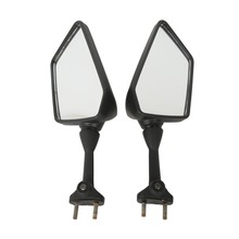 Left Right Rear View Mirrors for Kawasaki ninja 250R EX250 2008-2013 2009 2010 Black Motorcycle