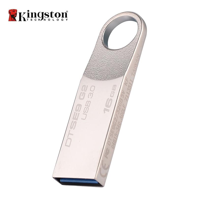 קינגסטון דיגיטלי Pendrive 16 GB DataTraveler SE9 G2 - אחסון חיצוני