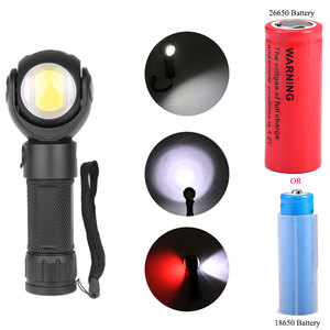 Image 5 - Led Zaklamp 360 Graden T6 + COB lantaarn 8000LM Waterdichte Magneet Mini Verlichting LED Zaklamp Outdoor gebruik 18650 of 26650 batterij