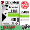 Kingston usb 3.0 microUSB otg flash drive pen drive 16 gb 32 gb 64 gb Smartphone PC cle usb stick mini chiavetta regalo memoria usb