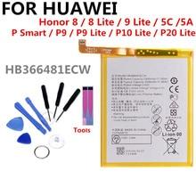 3000mAh HB366481ECW battery For HUAWEI honor 8/p10 lite/p8 lite p9/p9 p20 lite li-ion polymer battery for Honor 5C аккумулятор rocknparts для huawei honor 5c p9 p9 lite honor 8 honor 8 lite honor 9 lite p10 lite p20 lite 686707