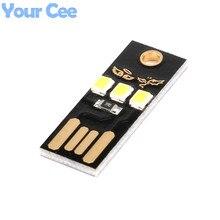 10 pcs Mini USB Luz de Acampamento Móvel Noite USB Lâmpada LED de Luz Branca