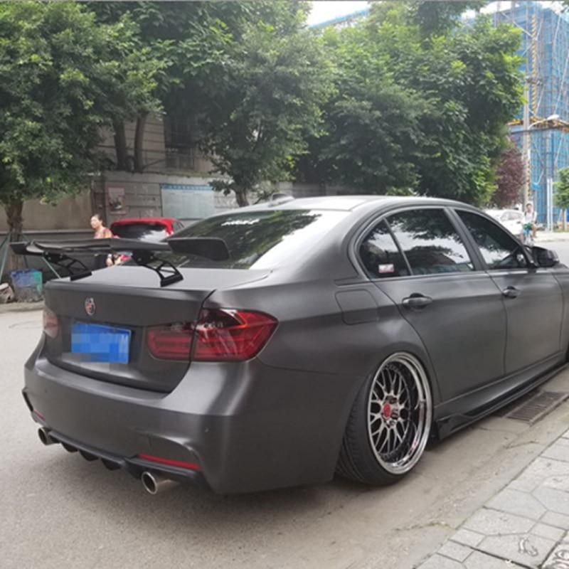 For BMW Coupe F30 F80 F82 E90 E46 E92 M3 M4 Spoiler MAD Style 100% Carbon Fiber Universal Rear Wing Spoiler for bmw e92 spoiler m4 style 3 series e92