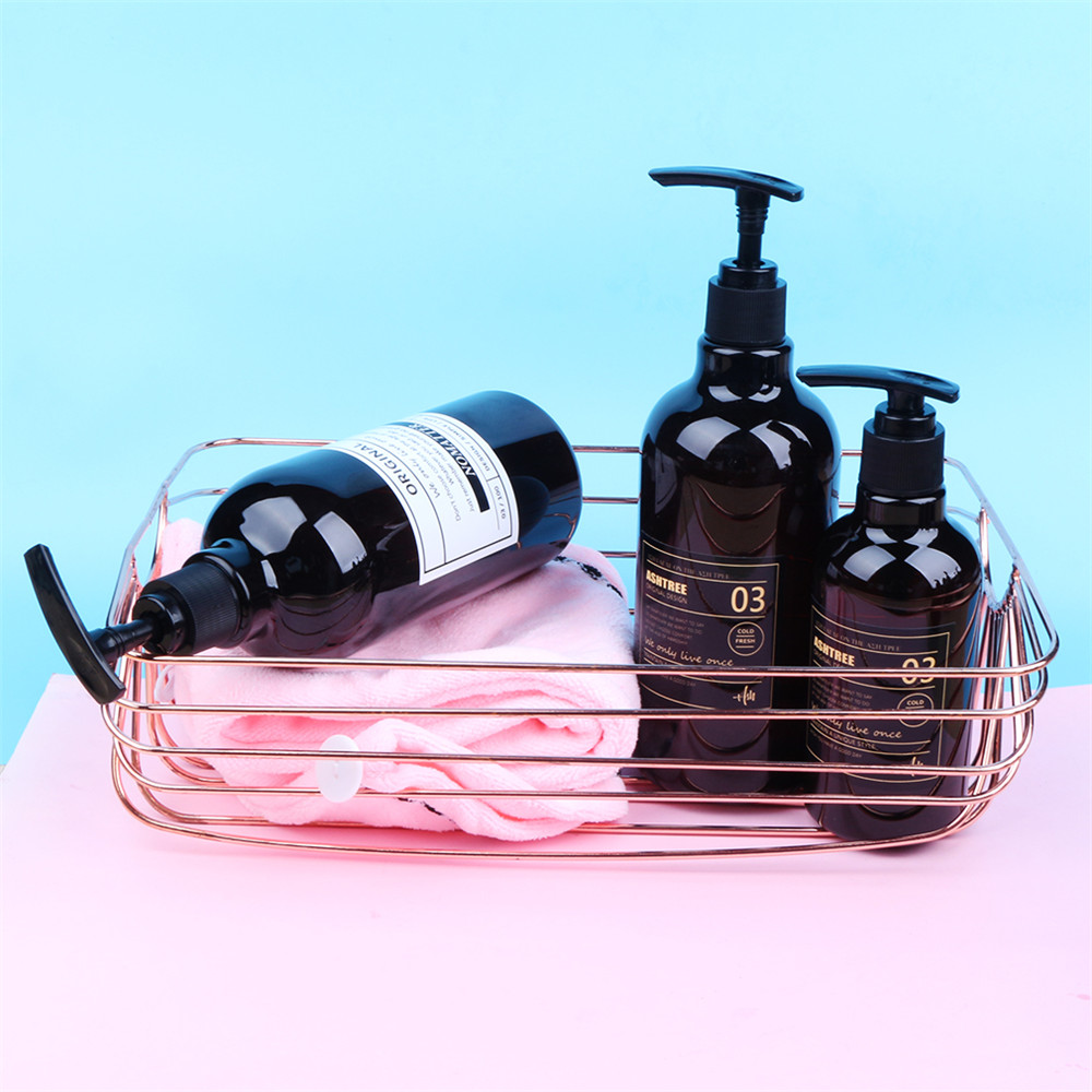 Storage Bottle Liquid-Lotion-Bottle Bath-Shampoo Travel-Organizer Scandinavian Chic Brown