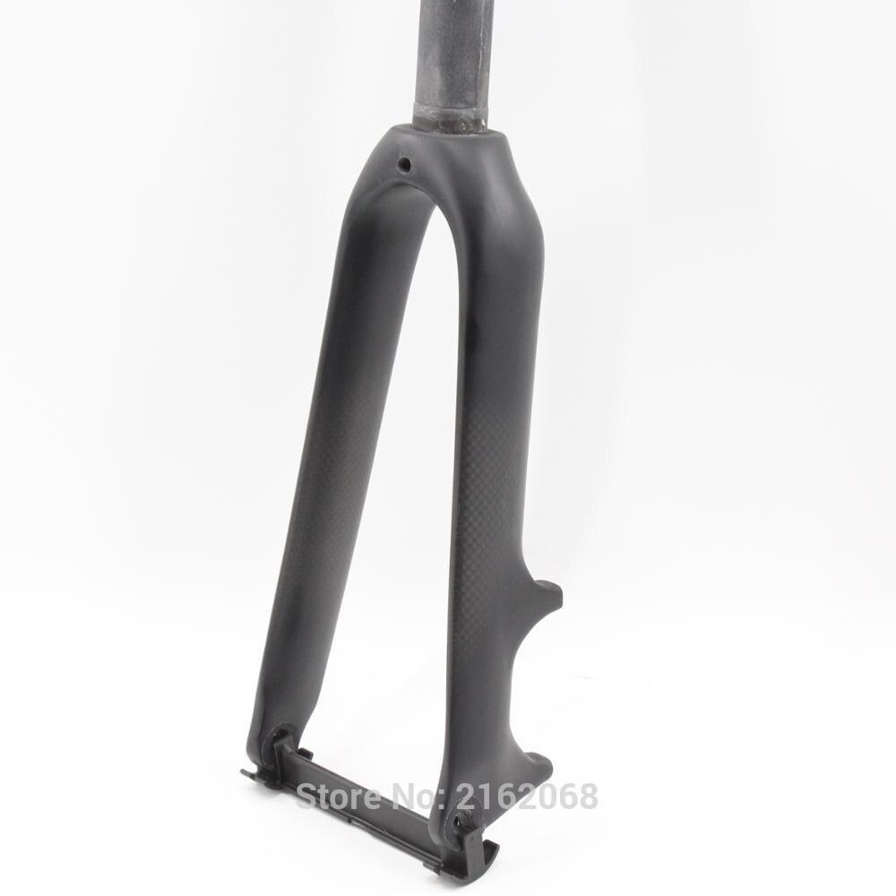 New 14 16 18 20er small wheel Folding bike matt 3K full carbon fibre bicycle front
