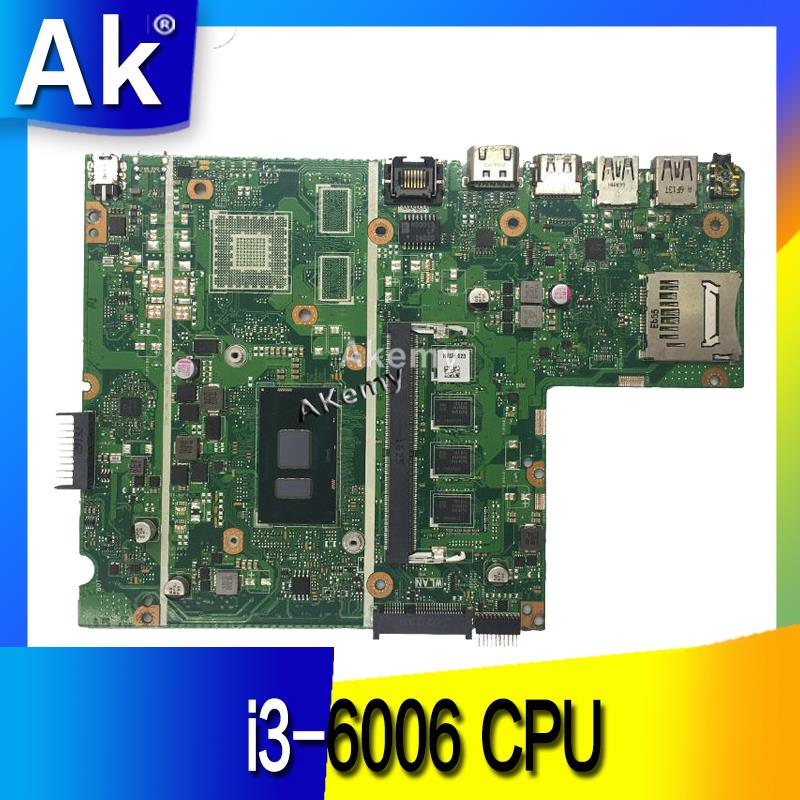 Laptop Motherboard For ASUS X541UVK X541UA X541UAK Mainboard I3-6006CPU  Exchange!!!
