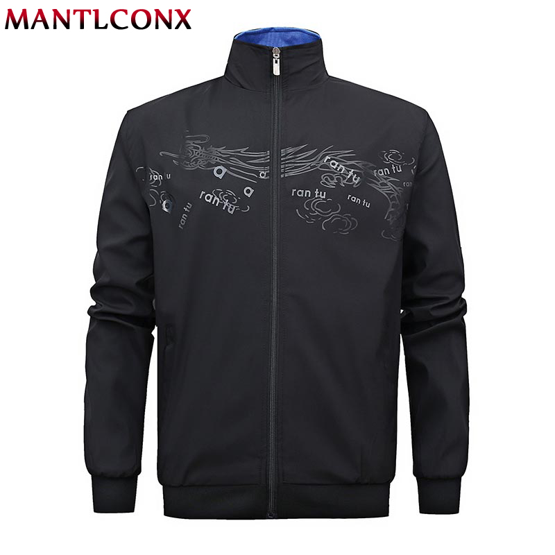 Mantlconx Spring Casual Sports Baseball Men's Jackets Coat Plus Size L 6xl Fashion Men Black Red Pilot Air Bomber Jacket Men New