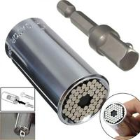 New Tv Multi Function Gator Grip Hand Tool Universal Socket Wrench Power Drill Adapter Hot Sale