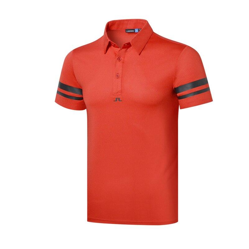 Cooyute nouveaux hommes Sportswear à manches courtes JL Golf T-shirt 4 couleurs Golf vêtements S-XXL au choix loisirs Golf chemise livraison gratuite - 3
