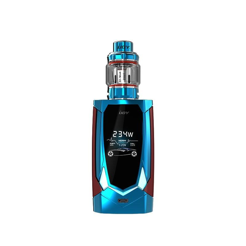 new IJOY AVENGER PD270 234W BOX MOD Vape Voice control With 20700 Battery AVENGER SUBOHM TANK Vaporizer electronic cigarette kit original ijoy saber 100 20700 vw kit max 100w saber 100 kit with diamond subohm tank 5 5ml