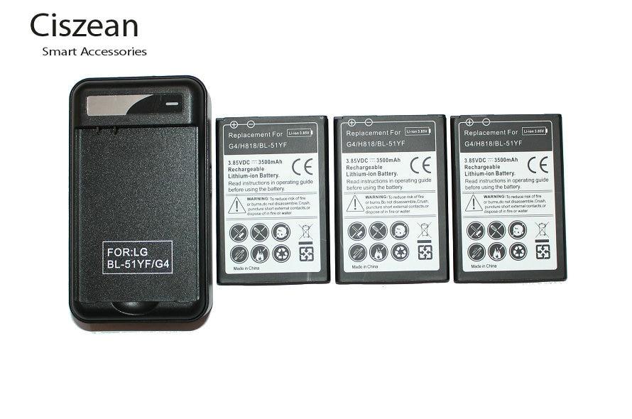 Replacement Battery H818N For LG G4 H818/H818n/Vs999/.. H815 Bateria 3500mah BL-51YF