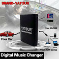 YATOUR CAR ADAPTER AUX MP3 SD USB MUSIC CD CHANGER HU CONNECTOR FOR VOLVO C70 S40 S60 S80 V40 V70 XC70 HU-XXX SERIES RADIOS