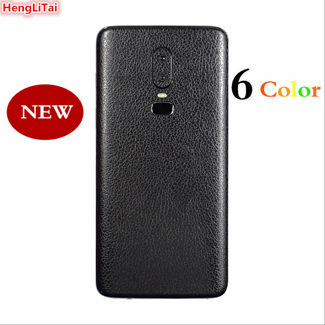 brand new 250f4 755e4 US $1.72 9% OFF|NEW For Oneplus 6 1+6 BEST leather Skins Protective Film  Wrap Skin Cellphone back paste Protective Film Sticker For Oneplus 6-in ...