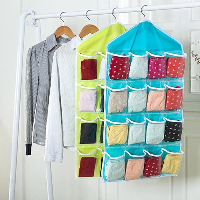 Faltbare Kleiderschrank Hängen Taschen Socken Slips Organizer ...