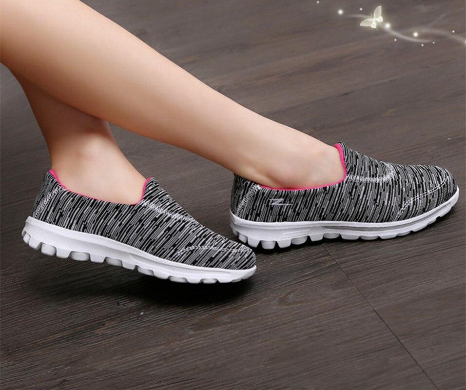 мода 2017 г. легкий удобный для обувь учащихся анти-скользкие обувь мокасины для влюбленных мягкие женские слипоны