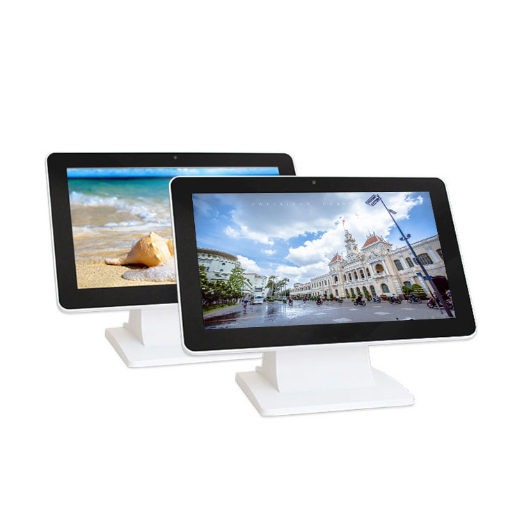 10 Inch Oem All In One Computer J1900 Embedded Touch Screen Industrial Pc 4 Usb