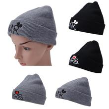 589453633ad New Baby Girls Boys Warm Hat Spring Autumn Fashion MR MRS Pattern Knitted Baby  Cap