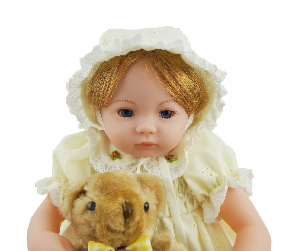 US $39.98 |Cosette 16 Inch Baby Dolls Yellow Cute Children Gifts Bedroom on