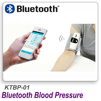 2019 new Blood Pressure Monitor Wireless Bluetooth Digital Arm Automatic Rechargeable Tonometer IOS or Android sphygmomanometer