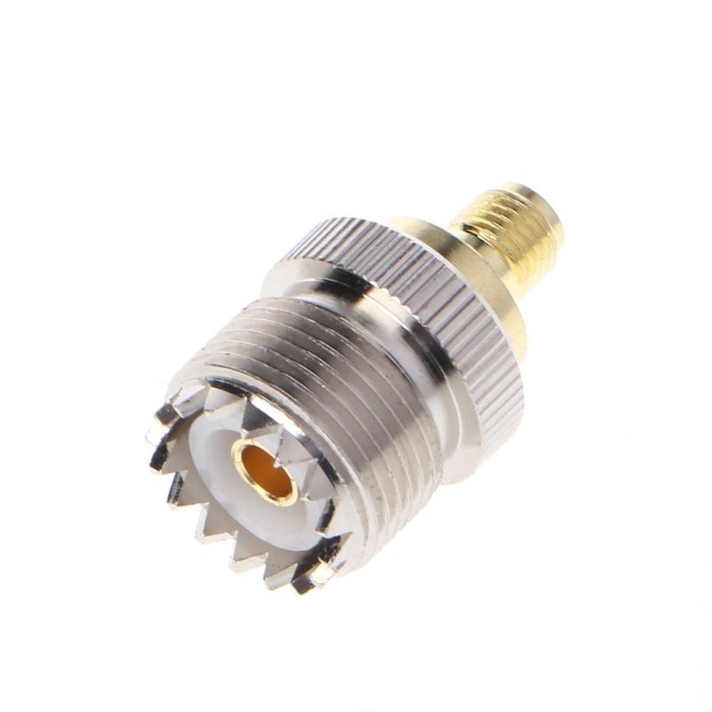 SMA Female To UHF Female RF Coaxial Connector Adapter SO-239 SO239 SMA Female To UHF Female RF Coaxial Connector Adapter SO-239 SO239
