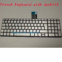 Novo Teclado AZERTY Para HP ENVY 15 U000 X360 15 u002xx 15 u010dx 15 u011dx Prata Francês clavier|Teclado de substituição|Computador e Escritório -