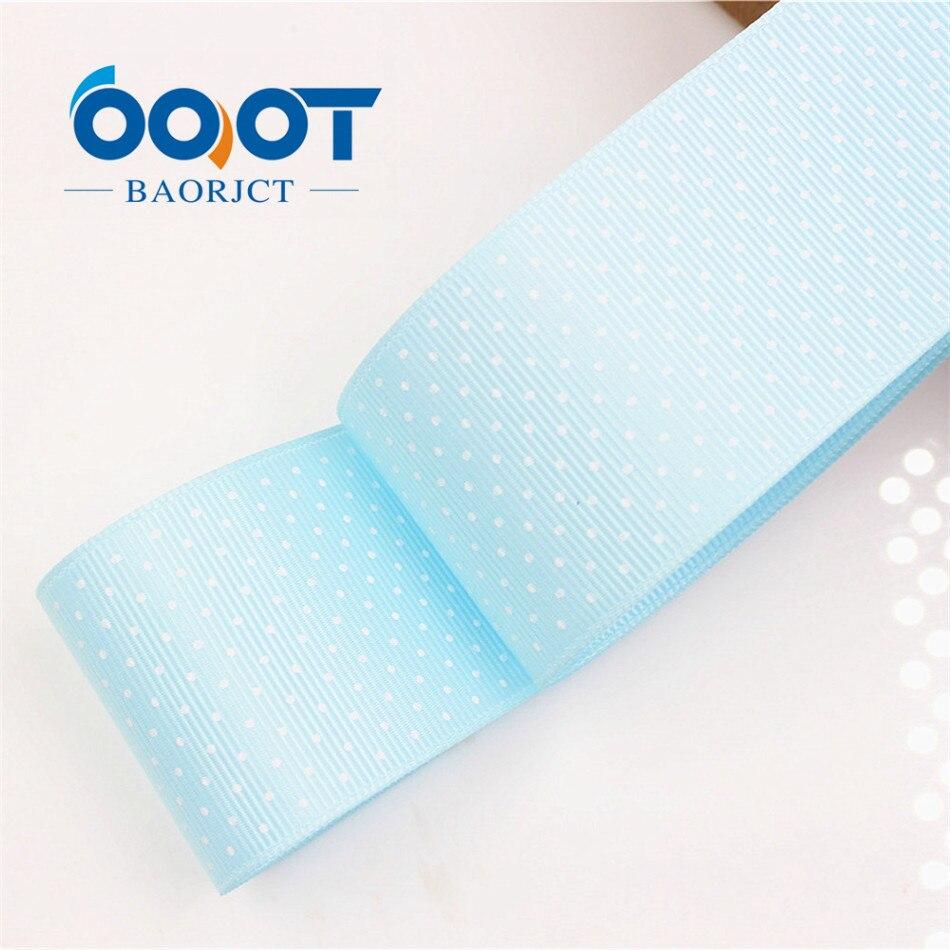 OOOT BAORICT 176222, белый горошек корсажная лента, 38 мм, 10 ярдов лента для шитья, DIY головной убор аксессуары ручной работы - Цвет: 0062