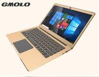 GMOLO Windows 10 ordinateur portable Intl Apollo N3450 Quad core 6 GB RAM 64 GB MEM + SSD full metal ultrabook 1920*1080 HD écran