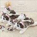 2015 Nueva Llegada Para El Bebé el Mejor Regalo de 20 cm Queso Gato Encantador Lindo de la Felpa Del Juguete de Una Pieza Envío Gratuito