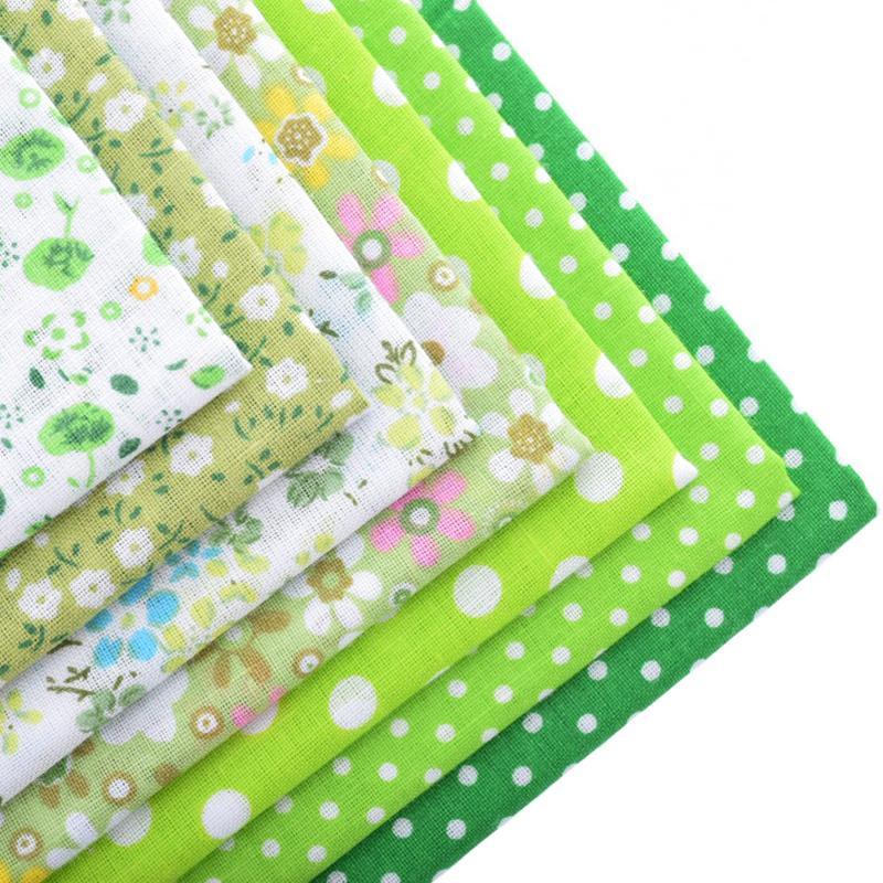 Tunn bomullstygpatchwork för sömnad Scrapbook Cloth Fat Quarters - Konst, hantverk och sömnad - Foto 6