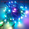 50 unidades/lotes DC 5 V/12 V WS2801/WS2811 IC RGB IP68 à prova d' água 12mm Digital programável ic módulo de led led string rgb LED Pixel