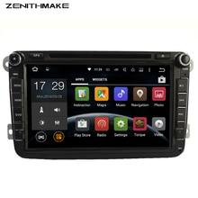 ENVÍO LIBRE Android 2Din Coches Reproductor de DVD para VW Golf mk6 5 fabia Polo Jetta Tiguan Passat B6 5 cc para skodaoctavia miralink obd