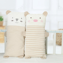 Newborn baby pillow kid  pillow cotton Lovely and comfortable quality pig organic cotton pillow washable cotton pillow