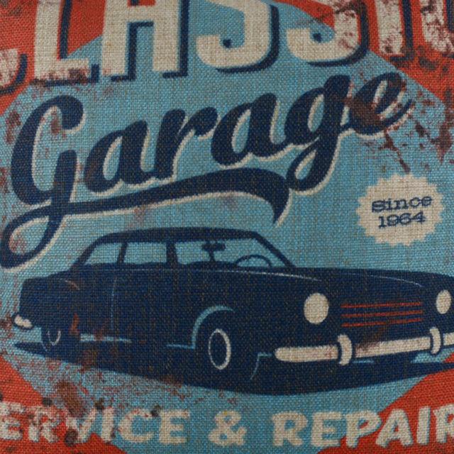 Classic Garage Cushion Cover 4