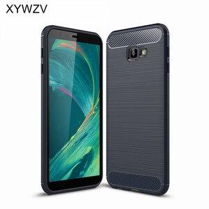 Image 2 - Para a Tampa Samsung Galaxy Caso Núcleo J4 Armadura De Luxo Caixa Do Telefone de Borracha Para Samsung Galaxy J4 Núcleo Capa Para Samsung j4 Núcleo Fundas