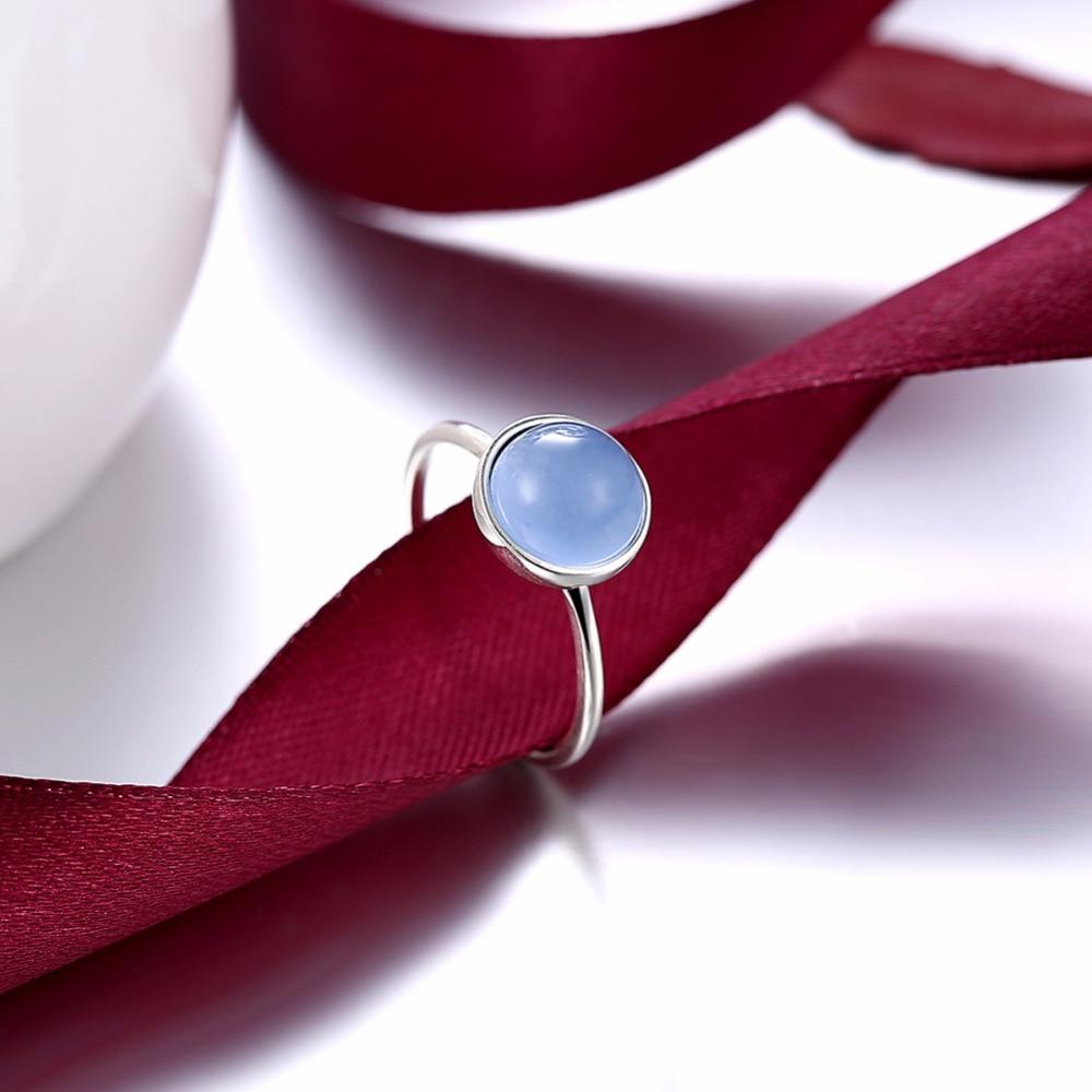 INALIS Classic Trendy Design S925 anillo de plata esterlina con luz - Joyas - foto 5