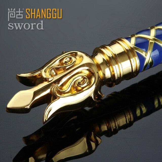 the film Llane Wrynn I King LLane Sword PVC Cosplay Prop The Alliance Stormwind 2