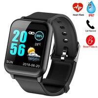 URMINE Bluetooth Smart Watch Blood Pressure Measurement Smartwatch GPS Sport Tracker Watch Waterproof For Android Xiaomi